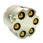 "2"" Six Shooter Style 3 Piece Grinder 1"