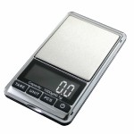 American Weigh Chrome Digital Scale 1000g x 0