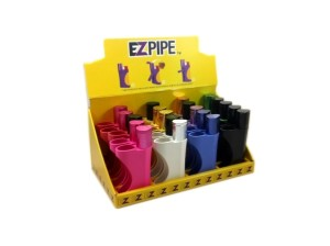 EZ Pipe - Swivel Top Wind Proof Lighter Pipe 1