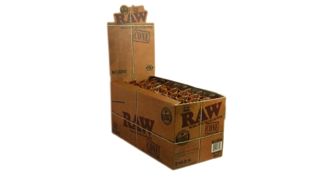 Raw Cone Natural Unrefined Rolling Papers How To Use