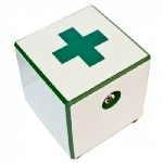 Hot Box Tile Custom Artist Designs (Green Cross) (HF) Vaporizer 1