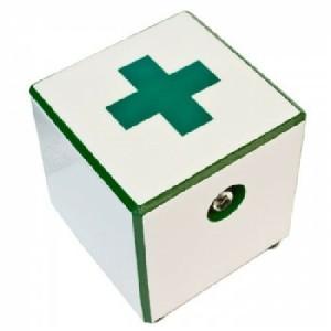 Hot Box Tile Custom Artist Designs (Green Cross) (HF) Vaporizer 1