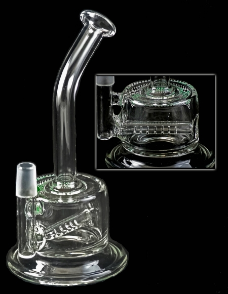 Perk Tech Direct Inject Fat Can lnline Water Pipe 1
