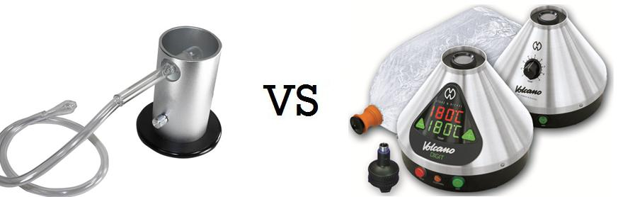 Baloon vs. whip-style vaporizer